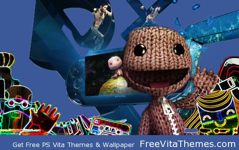 Transparent/Dynamic|LittleBigPlanet – Dynamic Glow PS Vita Wallpaper