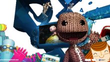 Download Transparent/Dynamic|LittleBigPlanet Sackboy's PS VITA – by Dusean17 PS Vita Wallpaper