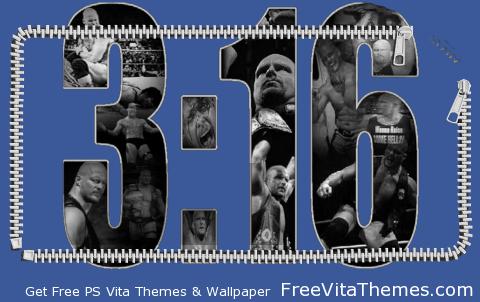 Stone Cold's Lockscreen PS Vita Wallpaper