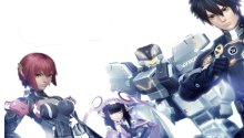 Phantasy Star Online 2 - Transparent