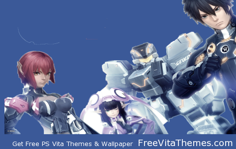Transparent/Dynamic|Phantasy Star Online 2 – no title PS Vita Wallpaper