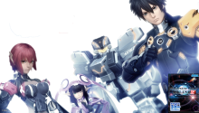 Phantasy Star Online 2 - Transparent with Title