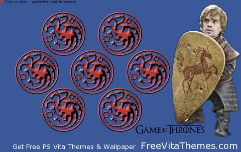 Tyrion Lannister 'Dynamic' Wallpaper PS Vita Wallpaper