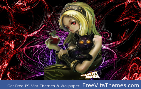 PSVITA|Gravity Daze/Rush – Power of Endless PS Vita Wallpaper