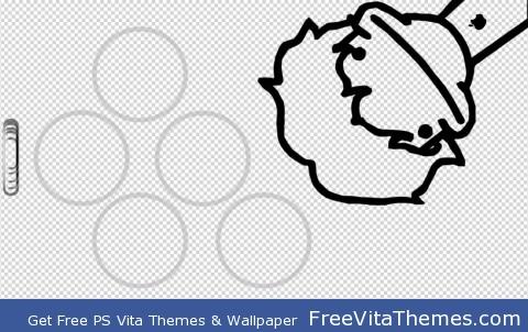 Cartoon Wallaper PS Vita Wallpaper