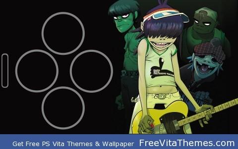 Gorillaz 2 Wallpaper PS Vita Wallpaper