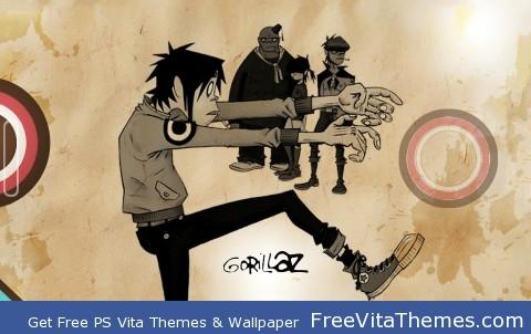 Gorillaz Wallpaper PS Vita Wallpaper