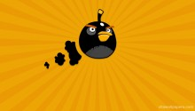 Download Angry Bird PS Vita Wallpaper