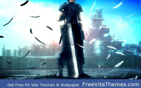 Crisis Core PS Vita Wallpaper