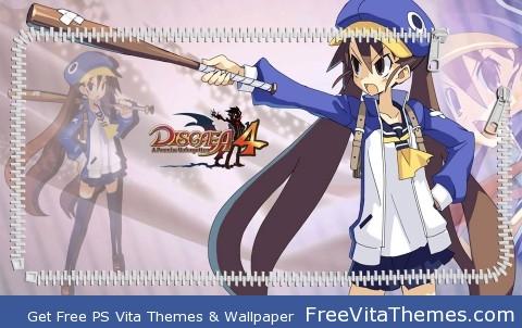 Fuka Lockscreen PS Vita Wallpaper