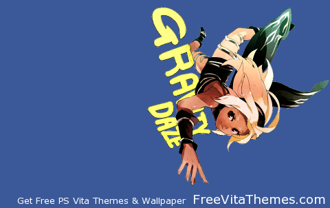 Gravity Daze_Dynamic-4 PS Vita Wallpaper