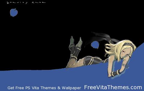 Gravity Daze_Dynamic-2 [Fix] PS Vita Wallpaper