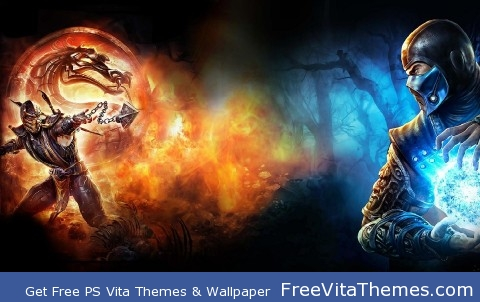 Mortal Kombat wall PS Vita Wallpaper