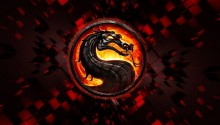 Download Mortal Kombat Logo PS Vita Wallpaper