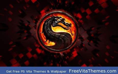 Mortal Kombat Logo PS Vita Wallpaper