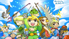 Download The Legend of Zelda: Wind Waker PS Vita Wallpaper