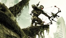 Download Crysis 3 Hunter PS Vita Wallpaper