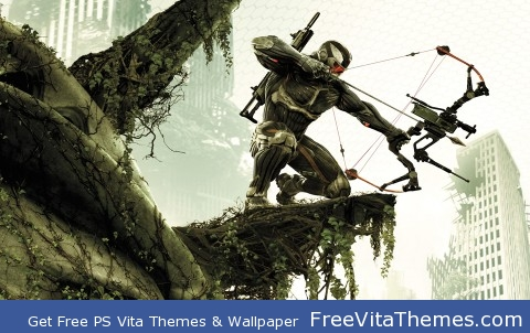 Crysis 3 Hunter PS Vita Wallpaper