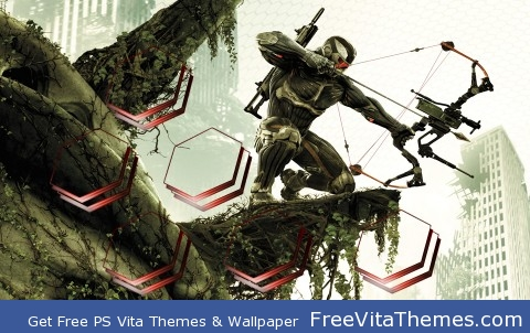 Crysis 3 Hunter Theme PS Vita Wallpaper