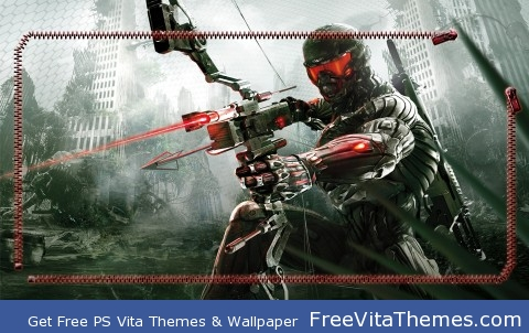 Crysis 3 Lockscreen PS Vita Wallpaper