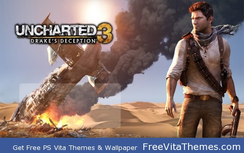 Uncharted 3 PS Vita Wallpaper