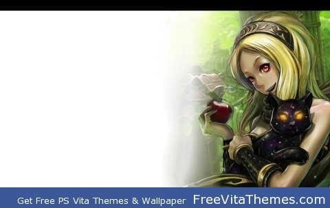 Kat Page 1- Gravity Rush Full Theme PS Vita Wallpaper