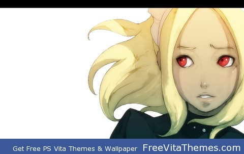 Kat Page 7- Gravity Rush Full Theme PS Vita Wallpaper