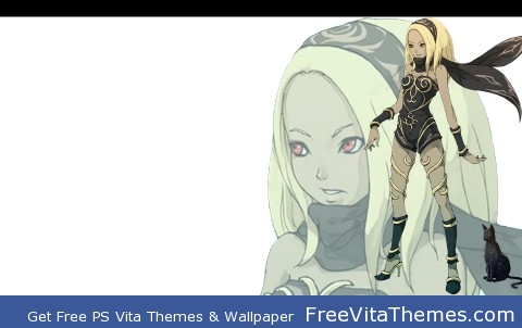 Kat Page 9 (Final page)- Gravity Rush Full Theme PS Vita Wallpaper