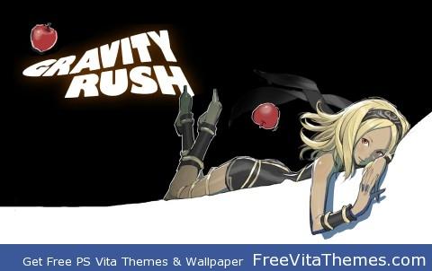 Kat Lockscreen- Gravity Rush Full Theme PS Vita Wallpaper