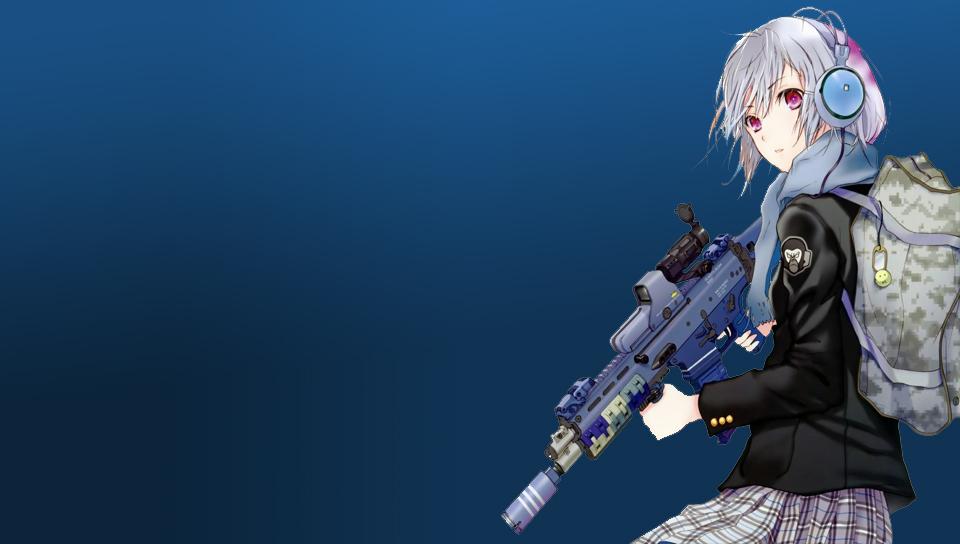 Anime Gun Girl Ps Vita Wallpapers Free Ps Vita Themes And Wallpapers