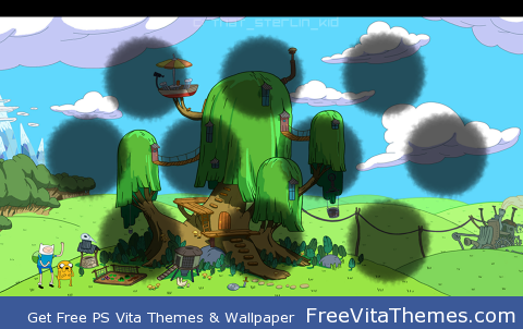 Adventure Time PS Vita Wallpaper