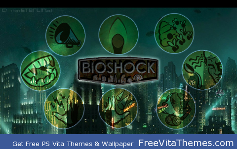 The Tonics of Rapture PS Vita Wallpaper