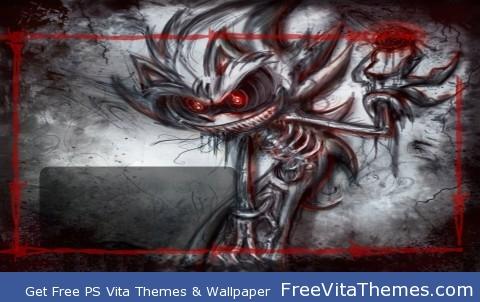 Death Sonic PS Vita Wallpaper