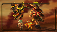 Download Jak, Daxter, Ratchet & clank PS Vita Wallpaper