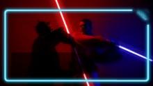 Download Lightsaber Battle PS Vita Wallpaper