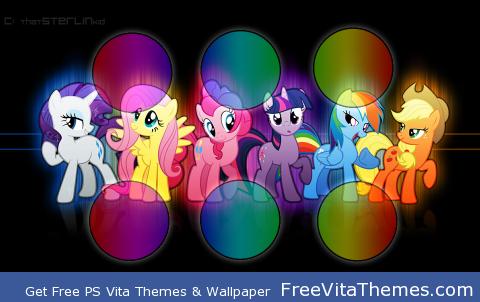 Friendship is Magic PS Vita Wallpaper