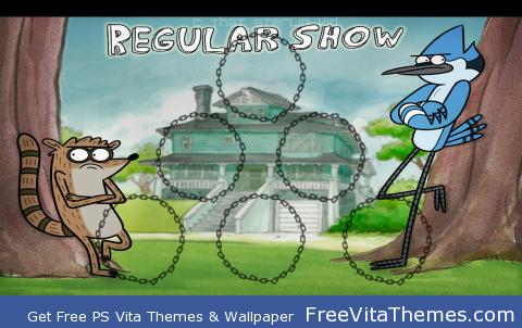 Regular Show PS Vita Wallpaper