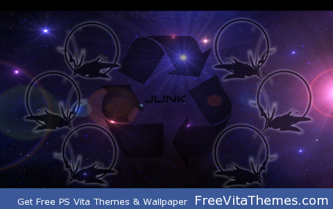 Vita Space Recycling PS Vita Wallpaper