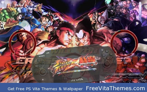 Street Fighter X Tekken PS VITA Wallpaper PS Vita Wallpaper