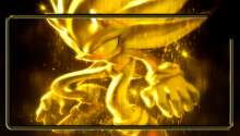 Download Super Sonic PS Vita Wallpaper