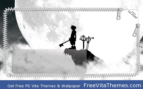 Kingdom Hearts Lockscreen PS Vita Wallpaper
