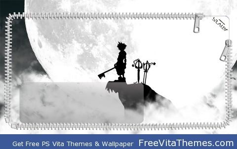 Kingdom Hearts Lockscreen PS Vita Wallpaper