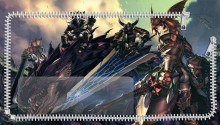 Download Monster Hunter Art PS Vita Wallpaper