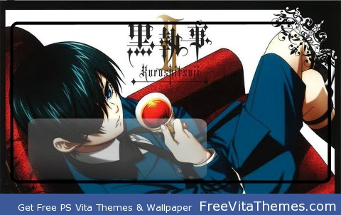 black butler ciel lockscreen PS Vita Wallpaper