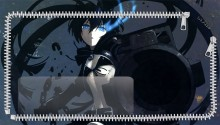 Download Black Rock Shooter 2 Lockscreen PS Vita Wallpaper
