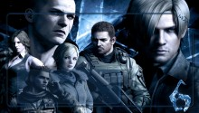 Download Resident Evil 6 Lockscreen PS Vita Wallpaper