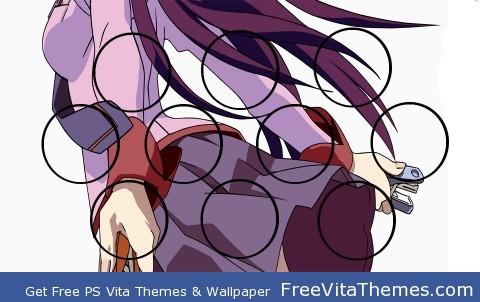 Hitagi, Senjougahara set 2 PS Vita Wallpaper