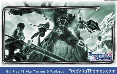 Zipper Lockscreen  Ragnarok Odyssey PS Vita Wallpaper