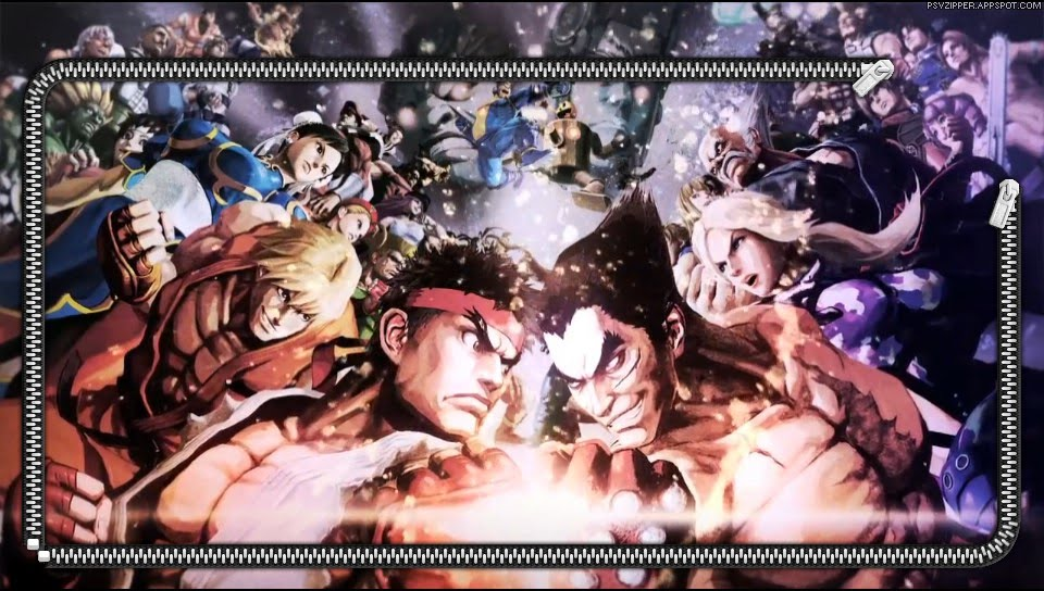 Zipper Lockscreen Street Fighter X Tekken Forces Ps Vita Wallpapers Free Ps Vita Themes And Wallpapers