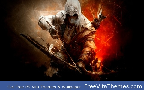 "Assassin's Creed ""Connor Kenway"" Wallpaper PS Vita Wallpaper"